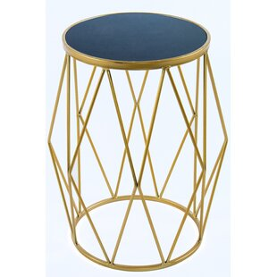 Statements by J Bailey Marble Side Table