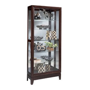 Urbane Lighted Curio Cabinet