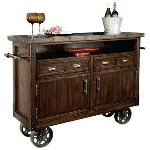 Bradbury Wine/Bar Cart by Canora Grey
