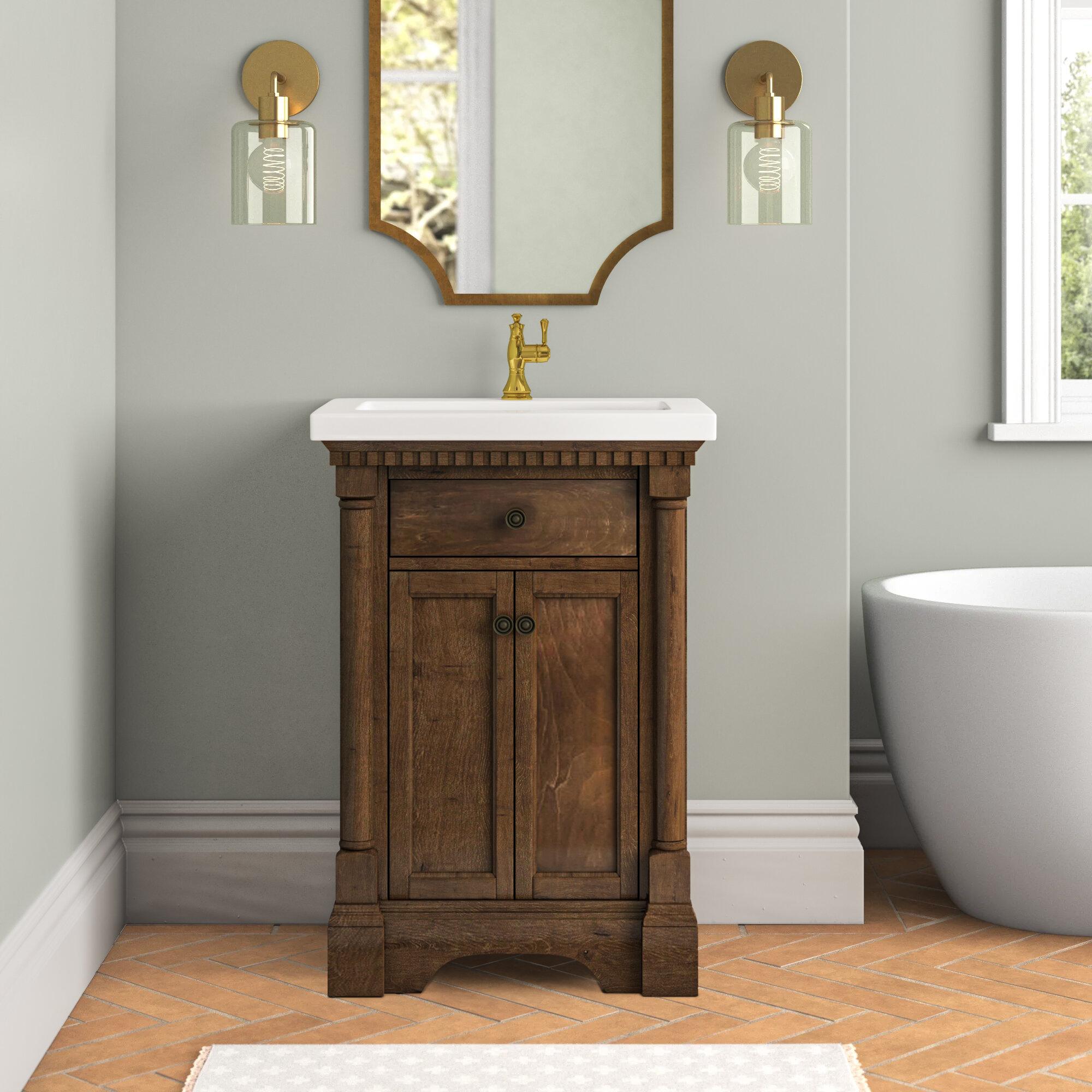 Joss Main Seadrift 24 Single Bathroom Vanity Set Reviews Wayfair