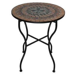 Hazelton Iron And Stone Bistro Table By Sol 72 Outdoor
