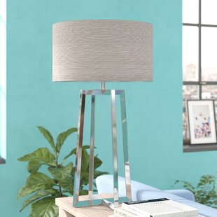 Evandale Stainless Steel 32 Table Lamp