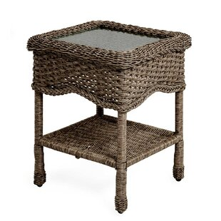 Prospect Hill Glass Side Table