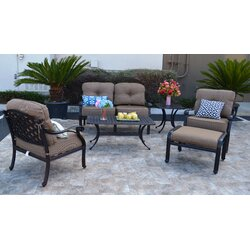 Levingston 6 Piece Deep Seating Group With Cushion