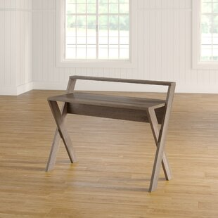 Joleen Writing Desk with Hutch by Mistana