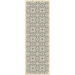 Order Hotwells European Gray/White Indoor/Outdoor Area Rug By Charlton Home