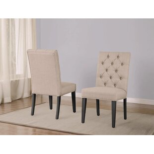 Wisniewski Upholstered Dining Chair (Set of 2)