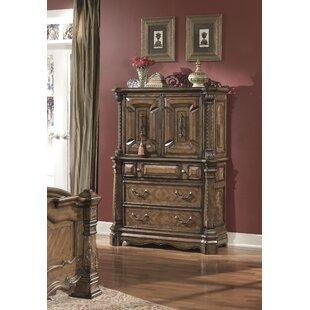 Windsor Court 3 Drawer Gentleman's Chest by Michael Amini Read Reviews