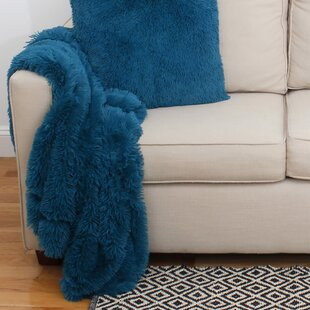 Quezada Faux Fur Throw