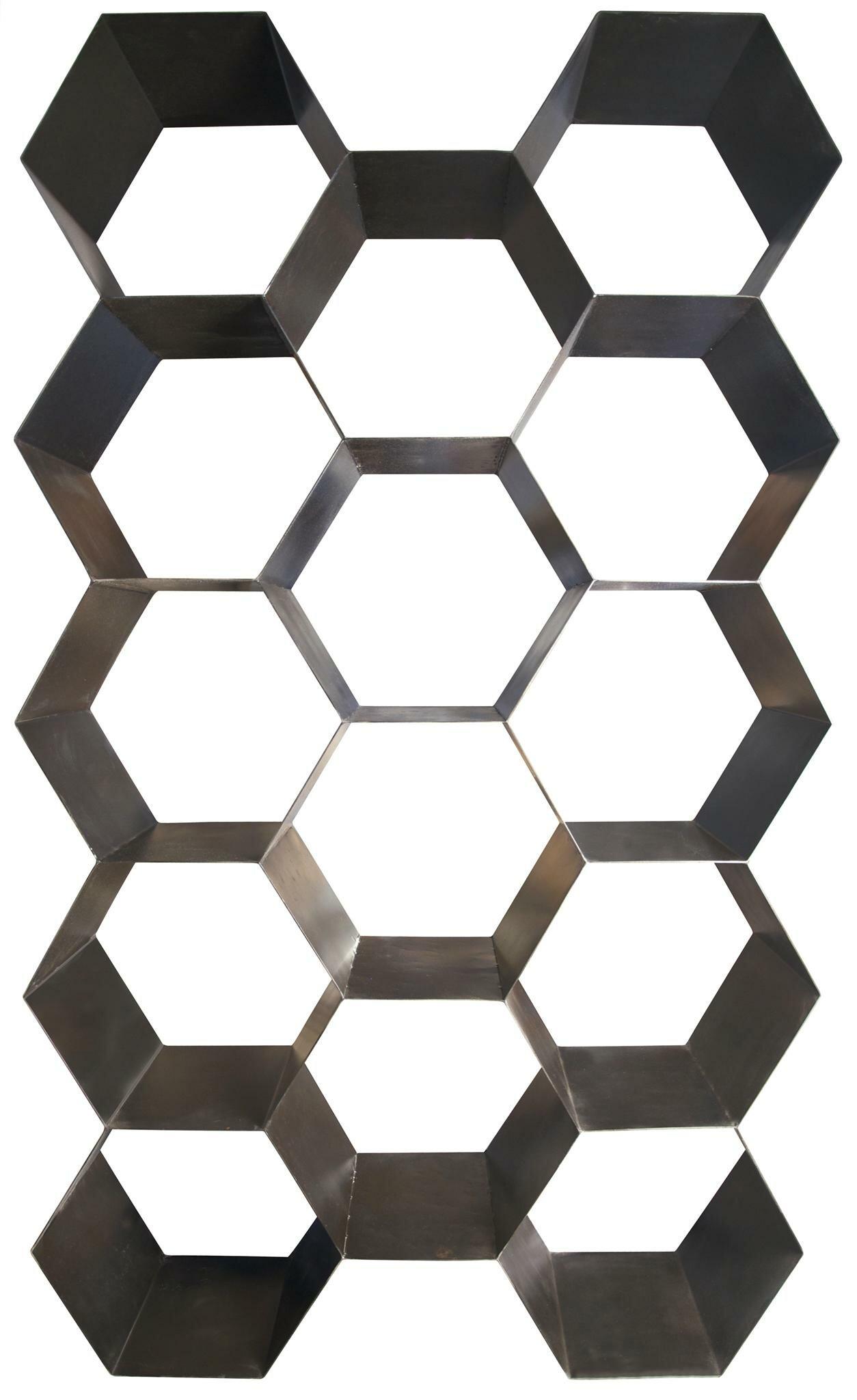 Geometric Bookcase By Noir