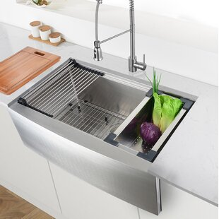 Farmhouse/Apron Kitchen Sinks You'll | Wayfair on amazon kitchen sinks, best kitchen sinks, portable kitchen sinks, side by side kitchen sinks, restaurant kitchen sinks, ornate kitchen sinks, undermount kitchen sinks, double kitchen sinks, brown kitchen sinks, furniture kitchen sinks, light kitchen sinks, cheap kitchen sinks, black kitchen sinks, stainless steel kitchen sinks, white kitchen sinks, tall kitchen sinks, unique kitchen sinks, appliances kitchen sinks, electric kitchen sinks, cool kitchen sinks,