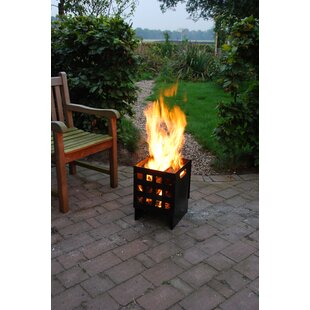 Stiles Wood Fire Pit By Sol 72 Outdoor