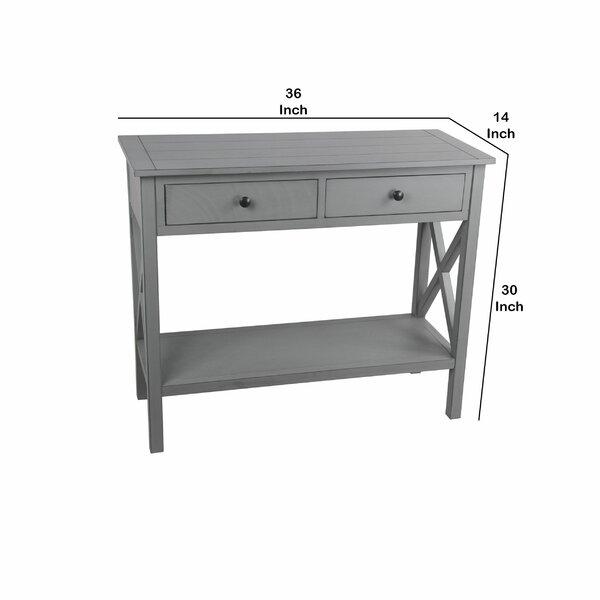 Gracie Oaks Lyme 36'' Console Table | Wayfair