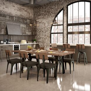 17 Stories Everly 9 Piece Dining Set