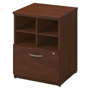 Series C Elite Pedestal Piler/Filer 1 Drawer Vertical File by Bush Business Furniture Spacial Price