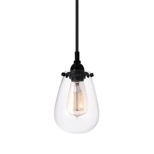 Williston Forge Kiley 1-Light Bulb Pendant