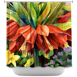 Fritillaria Single Shower Curtain