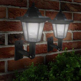 Hagerman Victorian LED Solar Outdoor Wall Lantern Image