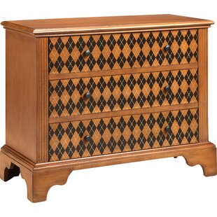 Lonegan 3 Drawer Accent Chest by World Menagerie