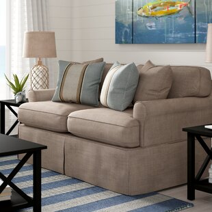 Coral Gables Slipcovered Loveseat by Beac..