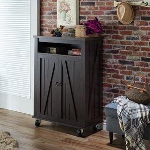 Gracie Oaks Shoe Storage Cabinet