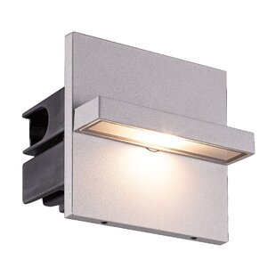 Orren Ellis Sincere 1-Light Outdoor Flush Mount