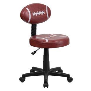 Online Reviews Darcy Football Mid-Back Kids Desk Chair ByZoomie Kids