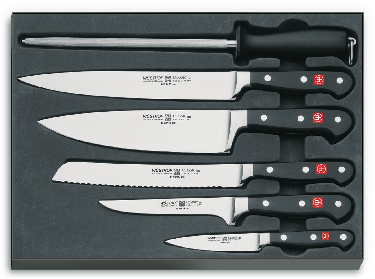 Classic 6 Piece Chefs Knife Set