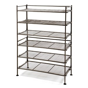 3-Tier 18 Pair Stackable Shoe Rack (Set of 2)