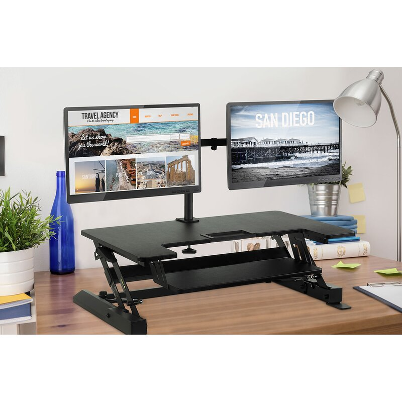 Mount It Sit Stand Standing Desk Converter Wayfair