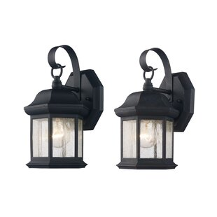 Price comparison Seldon Outdoor Wall Lantern (Set of 2) By Charlton Home