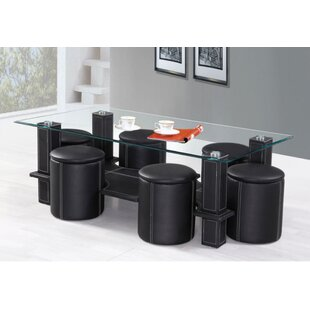 Permelia 7 Piece Coffee Table Set by Orren Ellis Great price