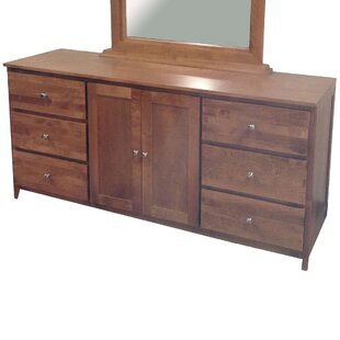 Lovell 6 Drawer Combo Dresser