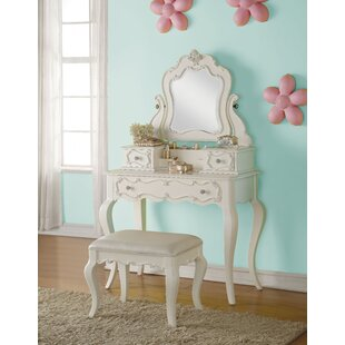 Eddins Vanity Set with Mirror