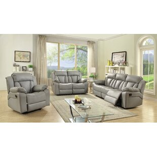 Latitude Run Pavonis Reclining Configurable Living Room Set