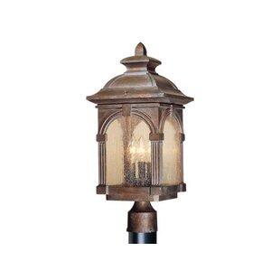 Inexpensive Browner Outdoor 3-Light Lantern Head By Fleur De Lis Living