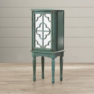 Lark Manor Wissem Jewelry Armoire with Mirror