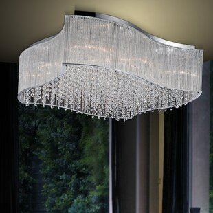 CWI Lighting Elsa 12-Light Flush Mount