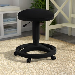 Gutierres Height Adjustable Stool with Footring