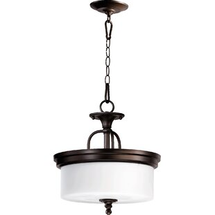 Three Posts Heyworth 3-Light Dual Mount Inverted Pendant