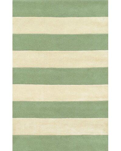 Good American Home Rug Co. Beach Seafoam/Ivory Boardwalk Stripes Area Rug U0026  Reviews | Wayfair