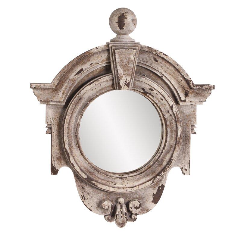 Rustic Stone Mirror