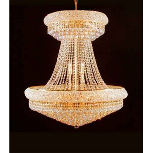 Lokey 28-Lights LED Chandelier by Astoria Grand