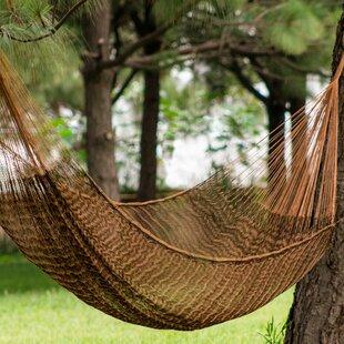 Caribbean Mambo Double Tree Camping Hammock by Novica