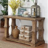 Charlotte 50 Solid Wood Console Table by Gracie Oaks
