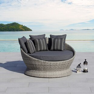 Brisbane Patio Daybed with Cushions by Ove Decors