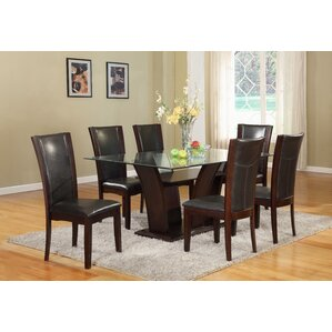 Bruening 7 Piece Dining Set by Latitude Run