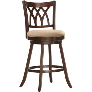 Kaleb Bar Stool by Alcott Hill
