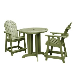 Anette 3 Piece Dining Set
