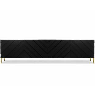 Chevron 4 Door Credenza by ModShop Best